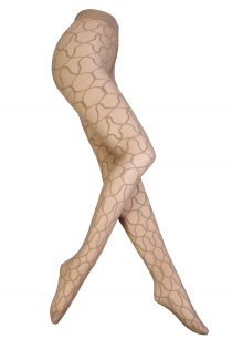 CAZZOLLA beežid mustrilised sukkpüksid | Sokisahtel