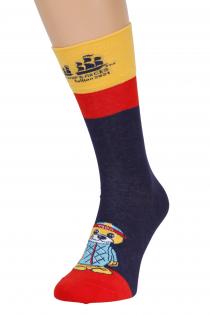 Хлопковые носки темно-синего цвета THE TALL SHIPS RACES 2021 SEAL   Sokisahtel
