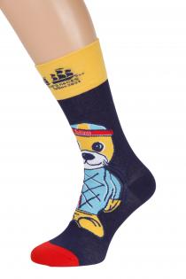 Хлопковые носки темно-синего цвета THE TALL SHIPS RACES 2021 VIDRIK   Sokisahtel