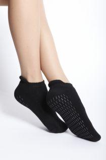 FINN musta värvi naksudega sokid naistele | Sokisahtel