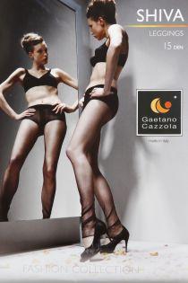 Gaetano Cazzola SHIVA 15DEN mustad retuusid naistele | Sokisahtel