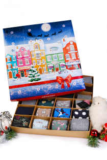 Advent Calendar WARM FEET, WARM HEART! 24 pairs of angora, merino and alpaca wool socks Pre-order, shipped out on Oct 27th, 2021 | Sokisahtel