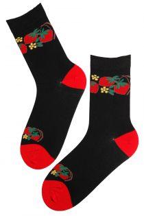 ANNIKA cotton socks | Sokisahtel