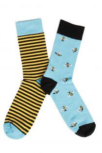 Мужские носки с пчелами BUG | Sokisahtel