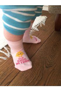 Хлопковые носки для новорожденных девочек CHIC   Sokisahtel
