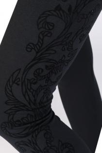 DARJA kaunistusega mustad retuusid | Sokisahtel