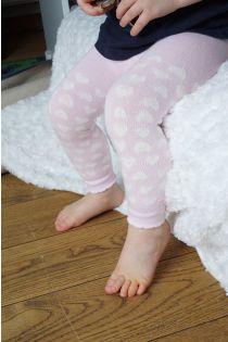 KARINE roosad puuvillased retuusid beebidele | Sokisahtel