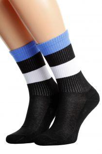 ESTONIA flag socks for men and women | Sokisahtel