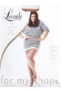 EXTRA 20 DEN brown tights for women | Sokisahtel