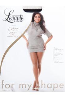 EXTRA 40 DEN black tights for women | Sokisahtel