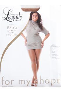 EXTRA 40 DEN natural tights for women | Sokisahtel