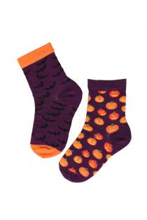 FLYING BAT Halloween socks with bats for kids | Sokisahtel