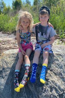 GOLDFISH cotton socks for kids | Sokisahtel