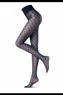 Oroblu GRAPHIC HUB 20DEN sinised sukkpüksid | Sokisahtel