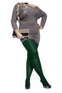 Женские колготки зеленого цвета из микрофибры PLUS 60 | Sokisahtel