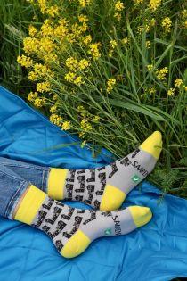 Cotton women's socks CASTLE | Sokisahtel