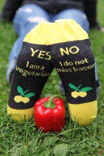 Хлопковые носки для женщин VEGETARIAN | Sokisahtel