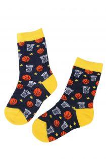 BASKETBALL basketball fan cotton socks for kids | Sokisahtel