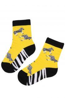 ZEBRA cotton sock for kids | Sokisahtel