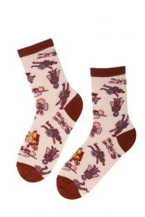 KNIGHT cotton socks for kids | Sokisahtel