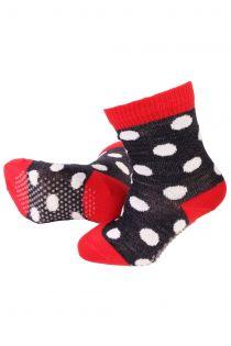MERINO DOTS dotted merino socks for babies   Sokisahtel