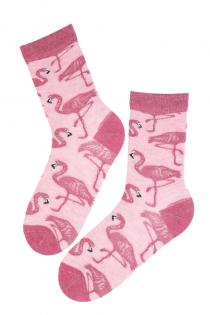 MIAMI angooravillased sokid flamingodega | Sokisahtel