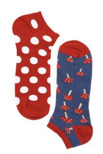 Мужские укороченные носки MUSHROOM | Sokisahtel