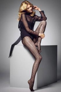 MYRIAM 20DEN täpilised sukkpüksid naistele | Sokisahtel