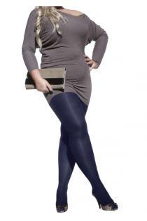 PLUS 40DEN sinised naiste mikrofiibrist sukkpüksid | Sokisahtel