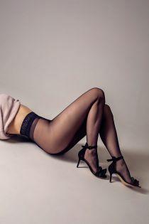 OLIVIA 20 DEN black tights | Sokisahtel