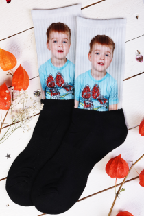 Personalized socks with your own picture | Sokisahtel