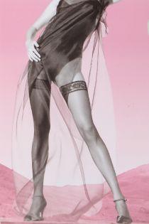 Женские тонкие классические чулки темно-серого цвета 15DEN от OROBLU | Sokisahtel