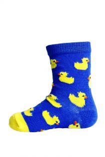 PARDIRALLI blue baby socks with anti-slip soles | Sokisahtel