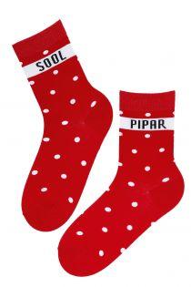 PEPPER and SALT cotton socks for men | Sokisahtel