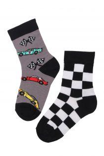 RACECAR cotton socks for kids | Sokisahtel