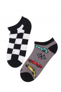 RACECAR lühikesed puuvillased sokid | Sokisahtel