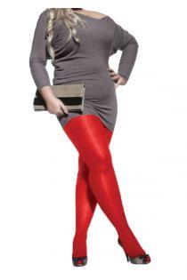 PLUS 40DEN punased naiste mikrofiibrist sukkpüksid | Sokisahtel
