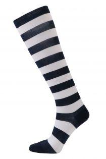 SAILOR striped cotton knee-highs | Sokisahtel