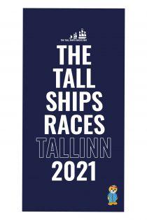 THE TALL SHIPS RACES 2021 sinine mikrofiibrist rätik | Sokisahtel