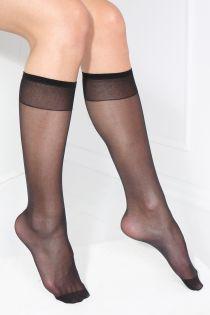 SMART TIGHTS black 30 DEN quickly biodegrading knee-highs | Sokisahtel