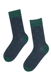 EUROFRIEND suit socks with euro signs for men | Sokisahtel