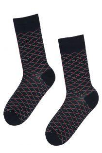 GAABRIEL patterned suit socks for men | Sokisahtel