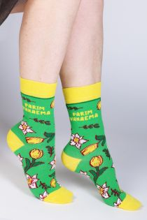 "LEIDA ""BEST GRANDMA"" Mother's Day cotton socks | Sokisahtel"
