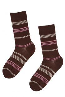 REIN striped men's suit socks | Sokisahtel