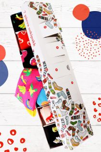 SURPRISE BOX with 7 sock pairs for every week day | Sokisahtel
