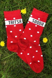 TÄITSA SOODA (TOTALLY NUTS) socks for women | Sokisahtel