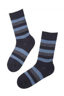 STEFAN striped merino socks for men | Sokisahtel