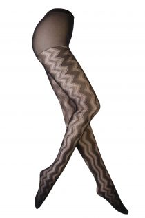 BIZZARRA musta värvi sukkpüksid | Sokisahtel