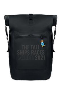 Рюкзак с надписью черного цвета THE TALL SHIPS RACES 2021 | Sokisahtel