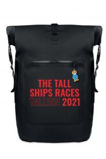 Рюкзак с надписью красного цвета THE TALL SHIPS RACES 2021 | Sokisahtel